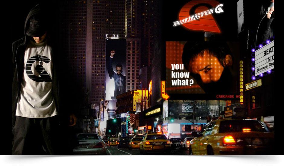 Agencia diseño web gráfica para artistas ibiza barcelona lanzarote - web site beatmaster g
