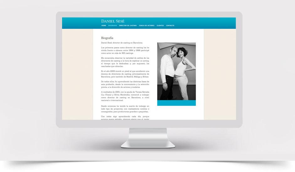Agencia diseño web gráfica para profesionales ibiza barcelona lanzarote -  web site daniel sesé