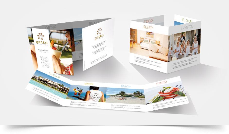 Agencia diseño web gráfica corporativa hoteles ibiza barcelona lanzarote - dossier gecko formentera