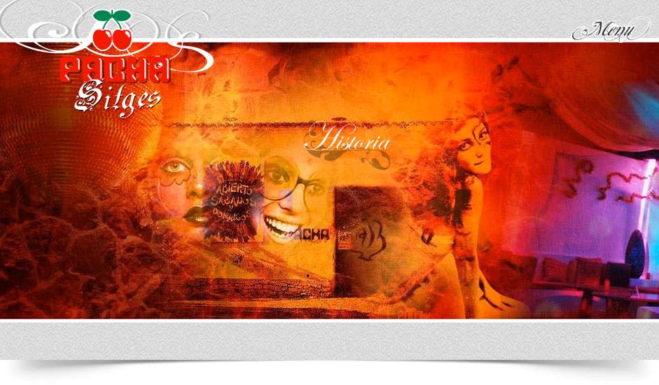 Agencia diseño web gráfica para discotecas ibiza barcelona lanzarote - web site pacha sitges