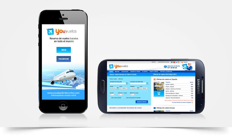 Agencia diseño web movil tablet ibiza barcelona lanzarote
