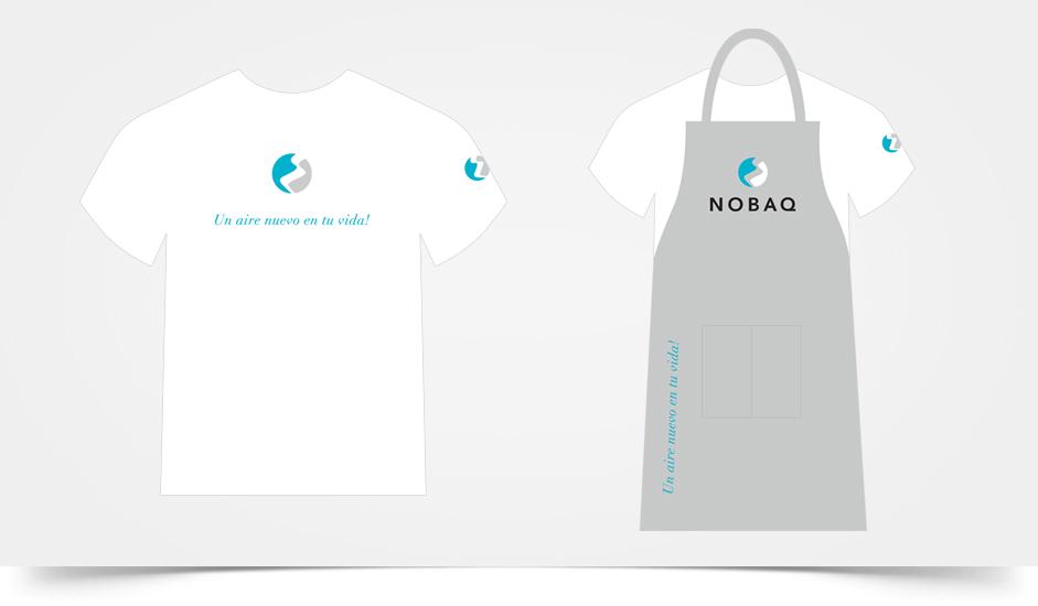 Branding diseño corporativo vestuario nobaq cigarrillos electrónicos ibiza barcelona lanzarote