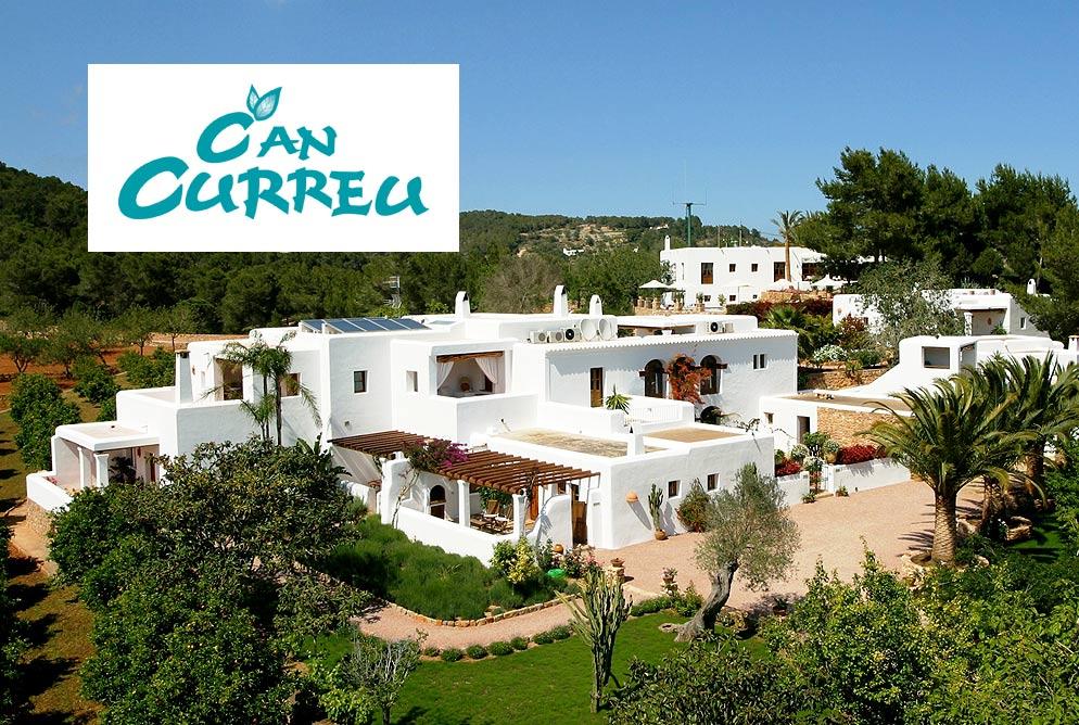 Diseño Web Agroturismo - Can Curreu Ibiza